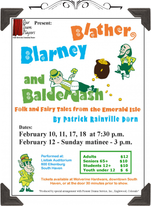 Blather, Blarney and Balderdash