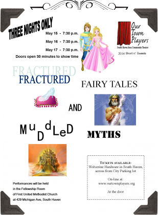 Short n' Sweets - Fractured Fairytales & Muddled Myths